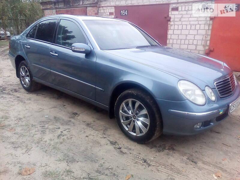 Mercedes-Benz E 200 ELEGANCE KOMPRESSOR