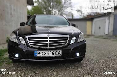 Mercedes-Benz E 200 2011 в Тернополе