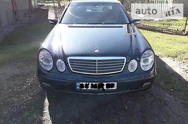 Mercedes-Benz E 220 2003 в Львове