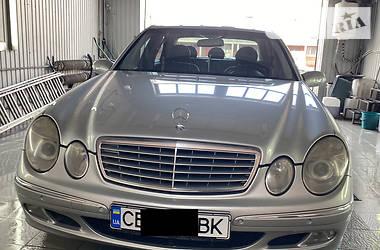 Седан Mercedes-Benz E 220 2002 в Чернигове