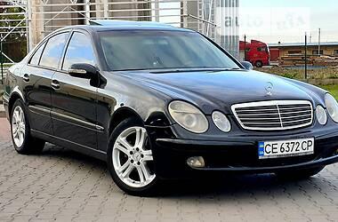 Седан Mercedes-Benz E 220 2002 в Коломые