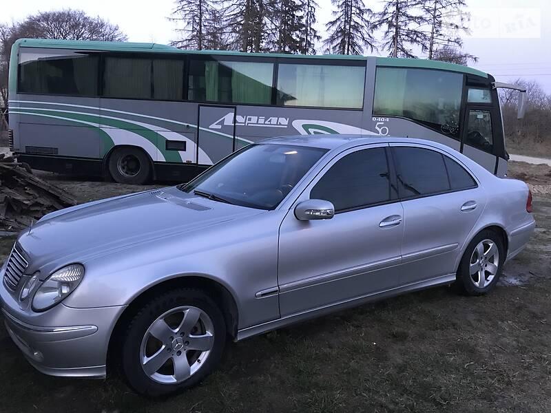 Mercedes-Benz E 270 2004 в Тернополе