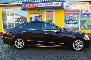 Mercedes-Benz E 350 2012 в Львове
