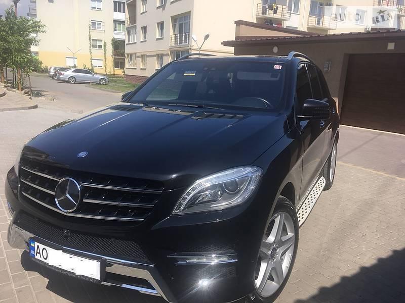 Mercedes-Benz ML 350 2014 в Ужгороде
