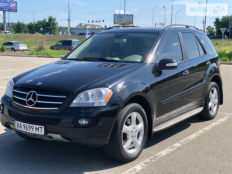 Mercedes-Benz ML 350 газ/бензин 2007
