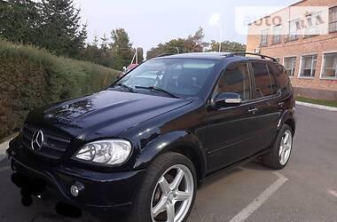 Внедорожник / Кроссовер Mercedes-Benz ML 55 AMG 2002 в Кропивницком