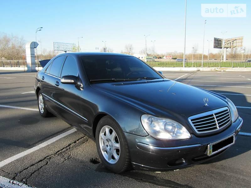Mercedes-Benz S 400 2000 в Киеве