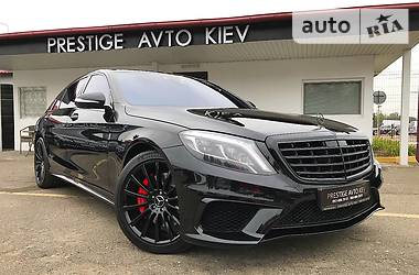 Mercedes-Benz S 500 S63 AMG 4MATIC 2014