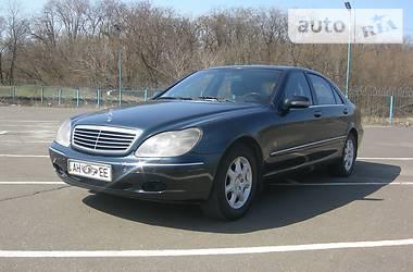 Mercedes-Benz S 500 1998 в Донецке