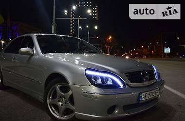 Mercedes-Benz S 500 2001 в Запорожье