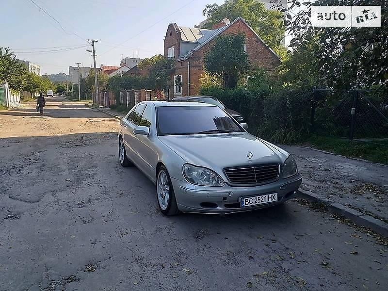 Mercedes-Benz S 500 2000 в Тернополе