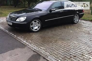 Mercedes-Benz S 600 2003 в Дніпрі