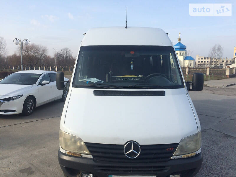 Mercedes-Benz Sprinter 411 пасс. 2000 в Луцке