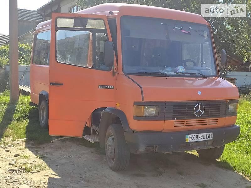 Mercedes-Benz T2 611 пасс 1996 в Ивано-Франковске