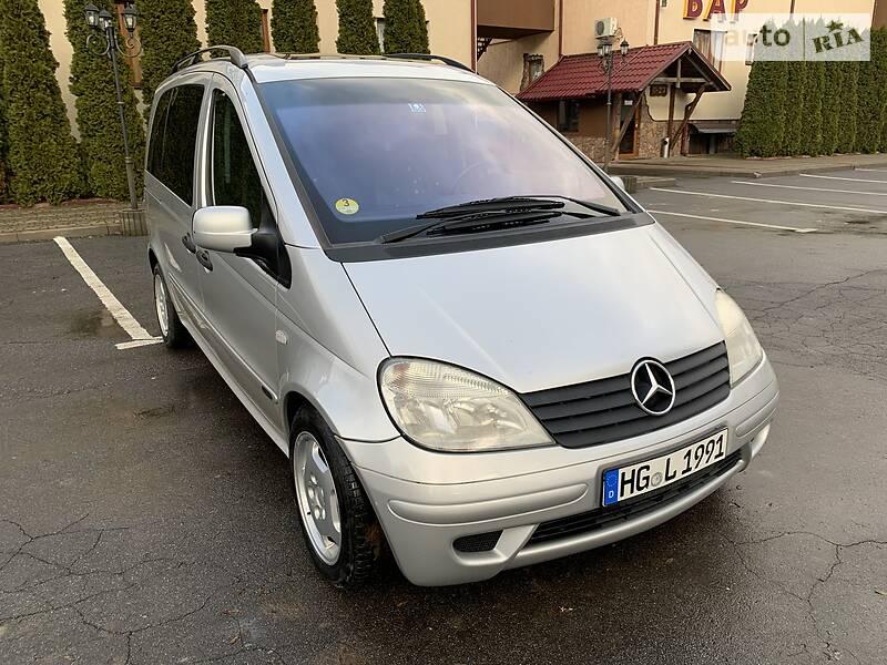 Mercedes-Benz Vaneo 2003 в Тернополе