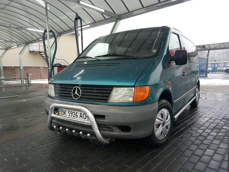 Мінівен Mercedes-Benz Vito 110 1998 в Рівному