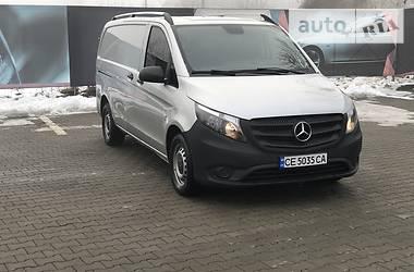 Mercedes-Benz Vito груз. 2016 в Черновцах