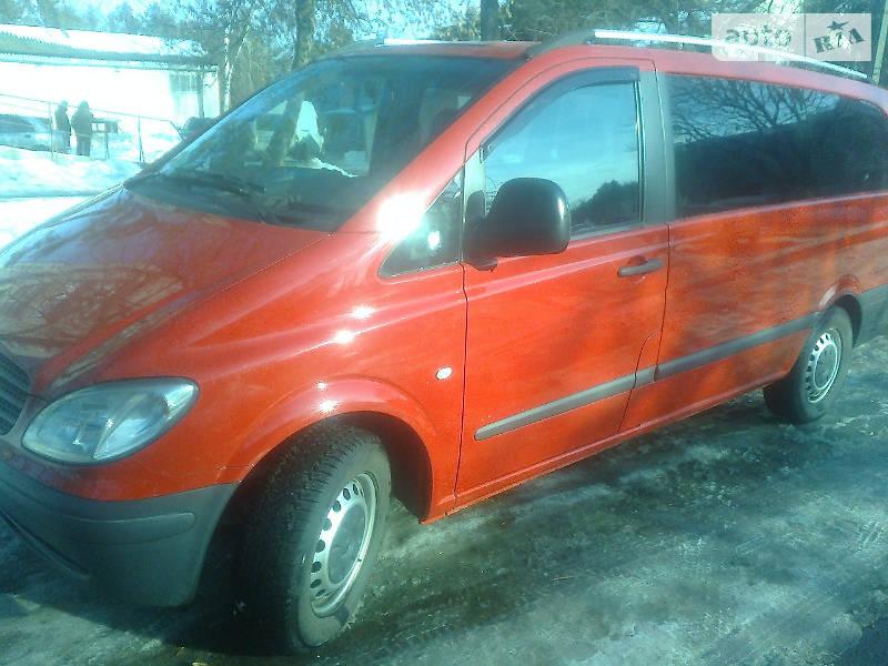 Mercedes Vito пасс. 2004 года в Чернигове