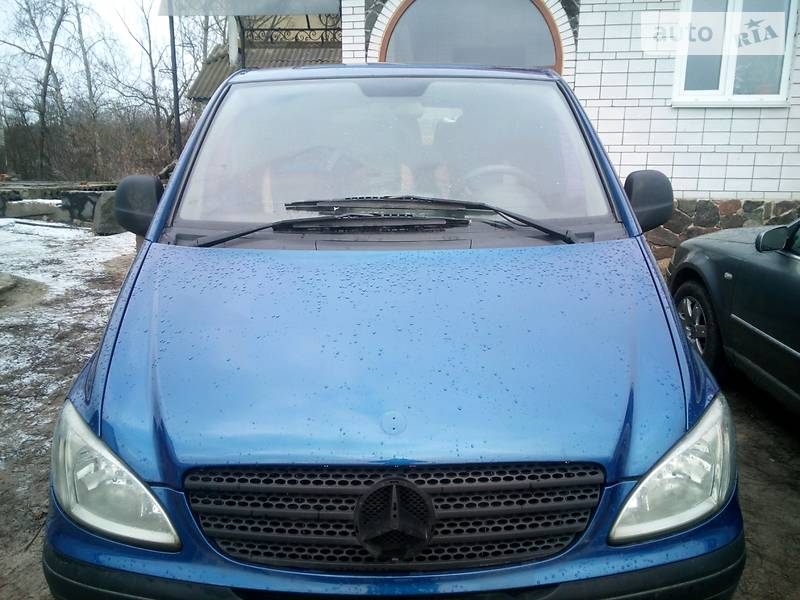 Mercedes-Benz Vito пасс. 2005 в Черкассах