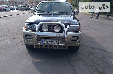 Mitsubishi Pajero Sport 2002 в Виннице