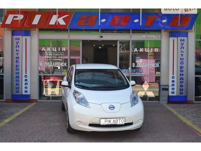 Nissan Leaf 2014 в Львові