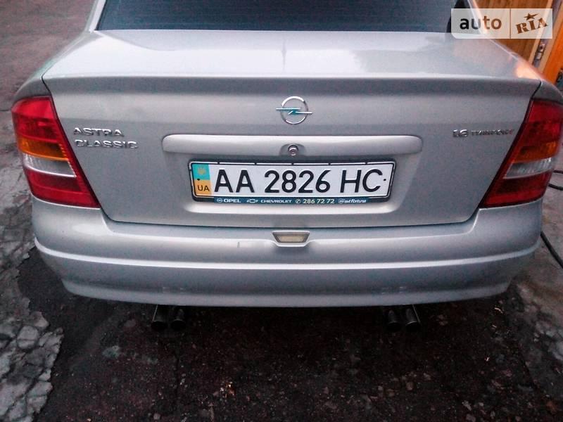 Седан Opel Astra G 2008 в Києві