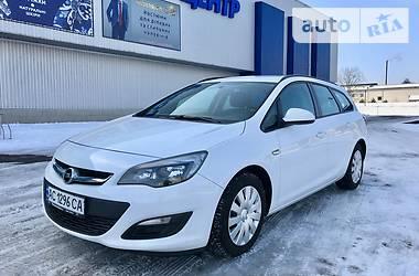 Opel Astra J ECO Flex 2013
