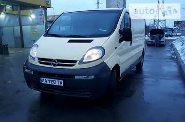 Opel Vivaro груз. 2003 в Киеве