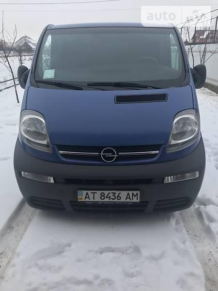 Opel Vivaro груз. 2003 года в Ивано-Франковске