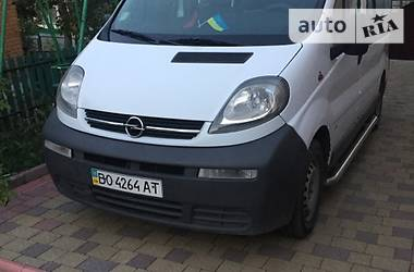 Opel Vivaro пасс. 2004 в Тернополе