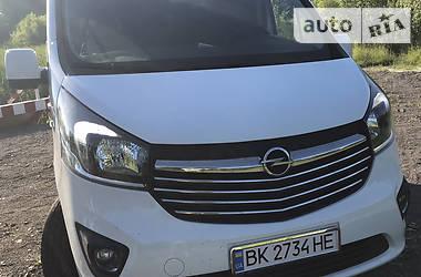 Легковой фургон (до 1,5 т) Opel Vivaro пасс. 2017 в Дубровице