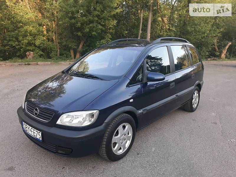 Opel Zafira 2001 в Киеве