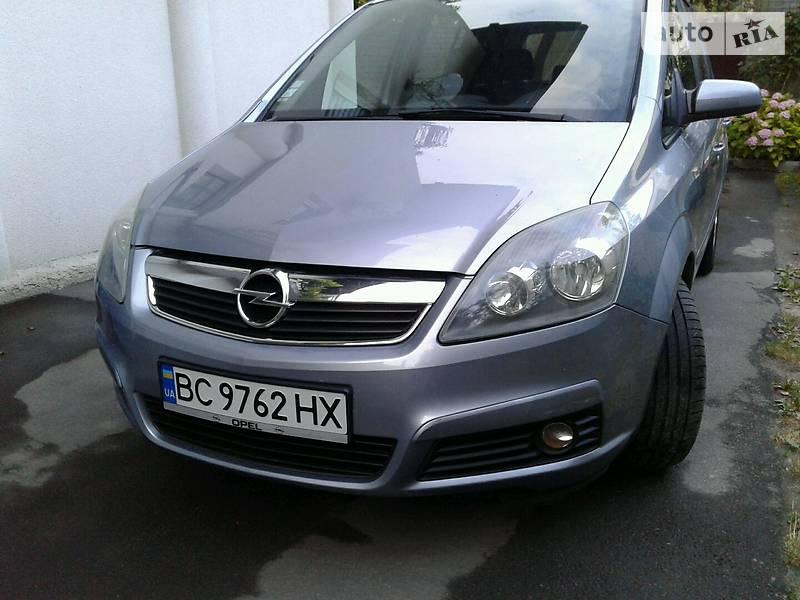Opel Zafira 2008 года в Львове