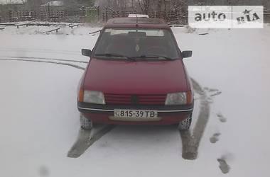 Peugeot 205 1989 в Бориславе