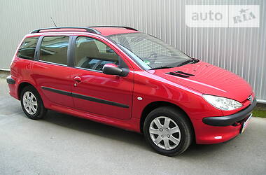 Унiверсал Peugeot 206 SW 2003 в Вінниці