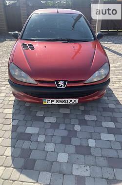 Хэтчбек Peugeot 206 2001 в Черновцах