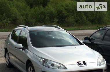 Универсал Peugeot 407 SW 2007 в Сколе