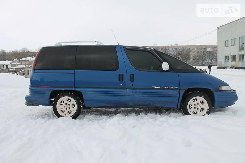 Pontiac Trans Sport 1993 года
