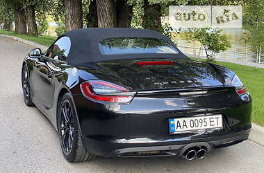 Кабріолет Porsche Boxster 2014 в Києві