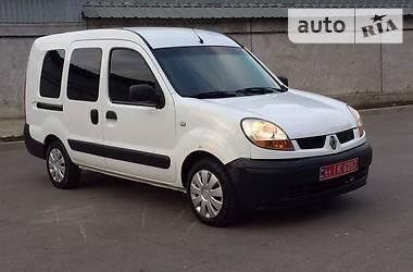 Renault Kangoo пасс. LONG 2007