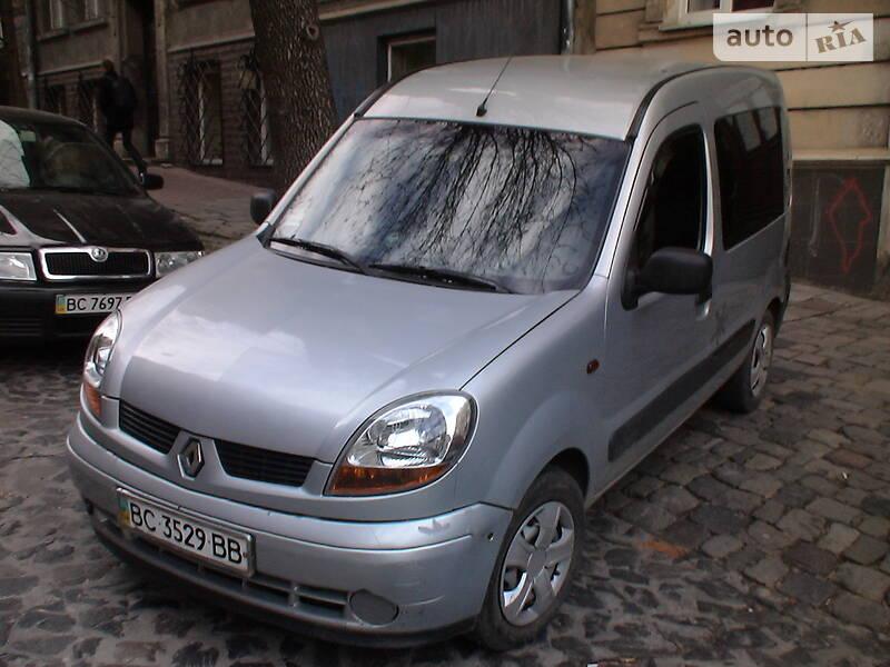 Renault Kangoo пасс. 2004 в Львове