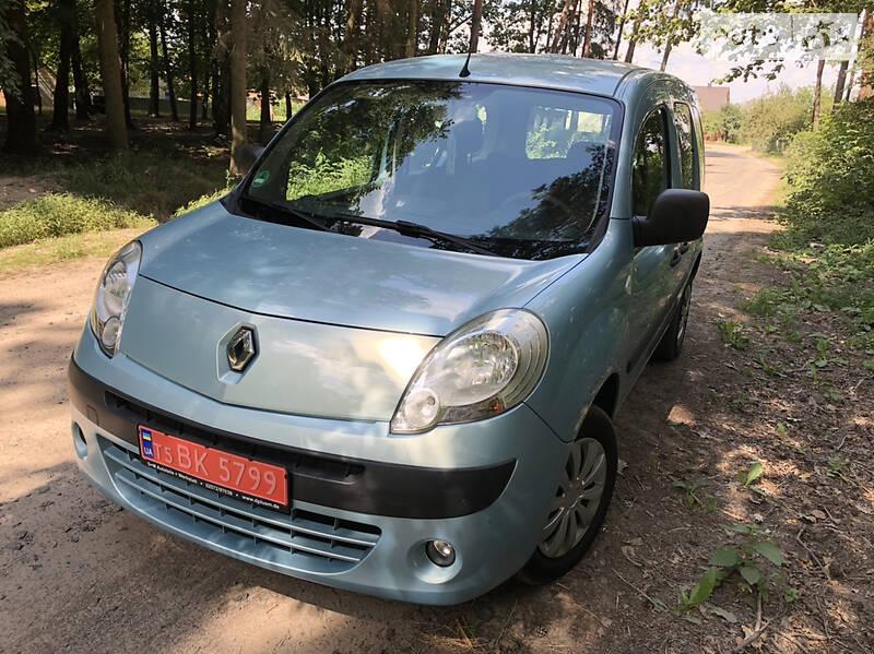 Renault Kangoo пасс. 1.6 MPI