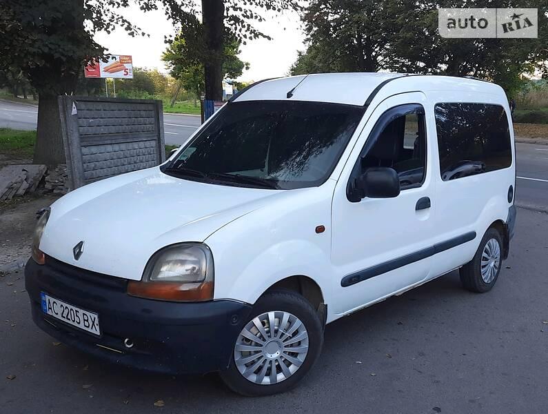 Renault Kangoo пасс. 2000 в Ровно