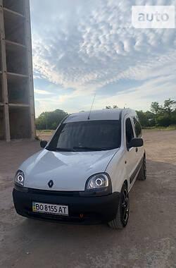 Мінівен Renault Kangoo пасс. 2002 в Тернополі