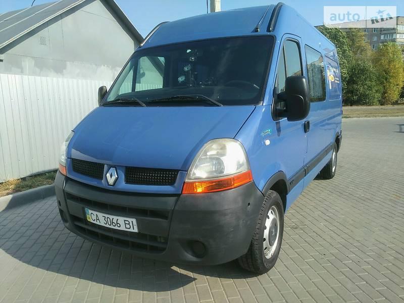Renault Master груз.-пасс. 2006 в Смеле