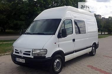 Легковой фургон (до 1,5 т) Renault Master груз.-пасс. 2003 в Днепре
