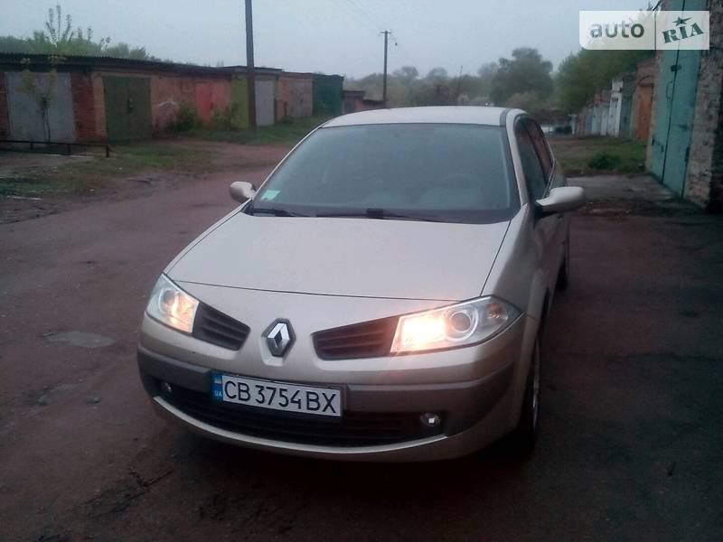 Седан Renault Megane 2007 в Прилуках