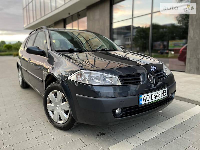 Универсал Renault Megane 2006 в Ужгороде