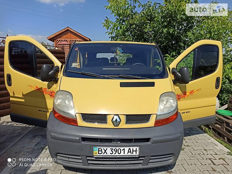 Renault Trafic пасс. 2001 в Хмельницком