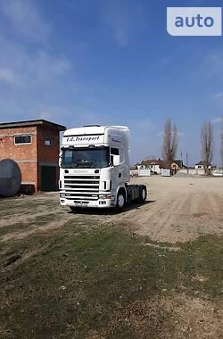 Тягач Scania 114 2002 в Черновцах